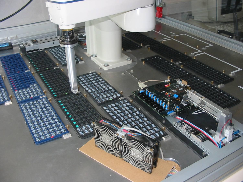 Test automatisé des circuits HAMAC