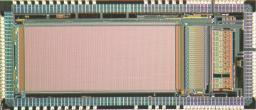 Puce Nectar0 pour CTA: Le microcircuit NECTAR0 intègre près de 300000 transistors gravés avec une précision de 0.35µm sur une surface d'environ 20mm2. Il est destiné à la lecture des photomultiplicateurs du futur observatoire CTA.