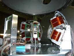 ligne BIgRIPS:Configuration des 8 télescopes MUST2 utilisés pour l'expérience de diffusions (p,p') de l'Oxygène 24,
