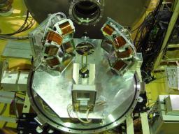 l'expérience dans l'aire RIPS. Dispositif de l'expérience MUST2 de diffusions (p,p') menée à RIKEN