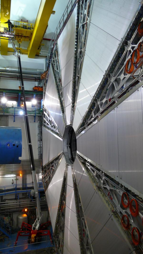Diverses vues de l'expérience Atlas