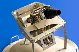 Vues du télescope mobile Hershel