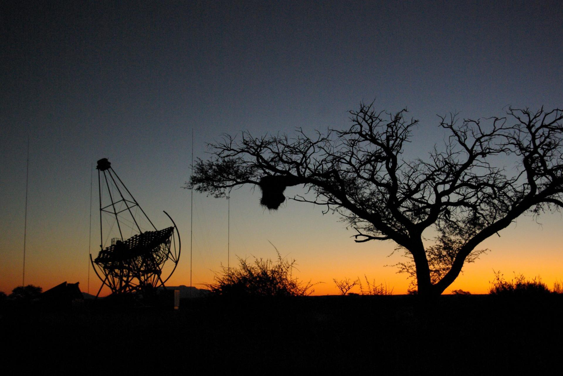Le téléescope HESS en Namibie
