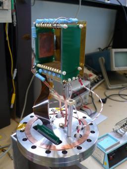 Prototype de profileur de faisceau pour IFMIF-EVEDA