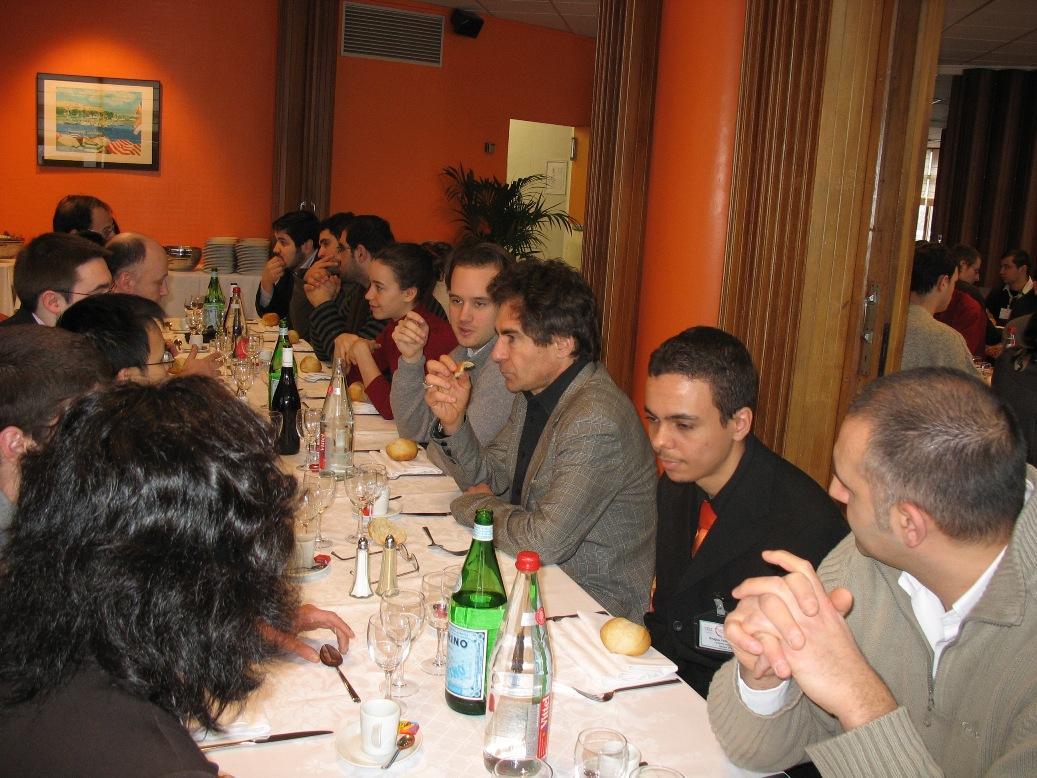 Journée Masters'day sur le centre CEA de Saclay (le 7 février 2009)