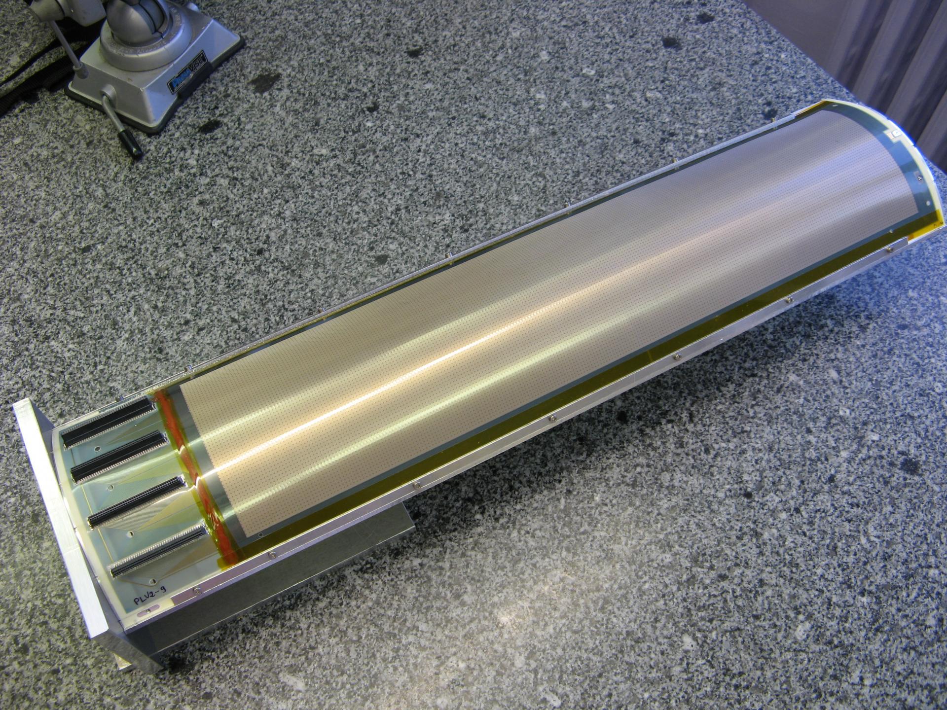 Prototype Micromegas courbe