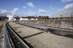 BAO: rail sur lequel se déplace le charriot focal