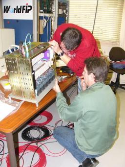 Châssis d'instrumentation pour l'expérience GIVRE en Antarctique