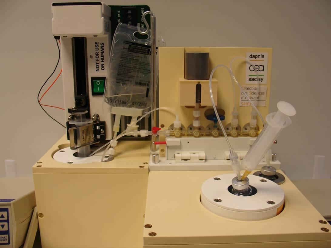 ALEXIA : automate de mélange de produits radiopharmaceutiques