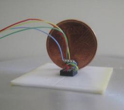 Intégration d'un accéléromètre pour des tests de vibration