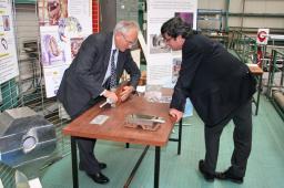 Visite de Monsieur Masson au SACM