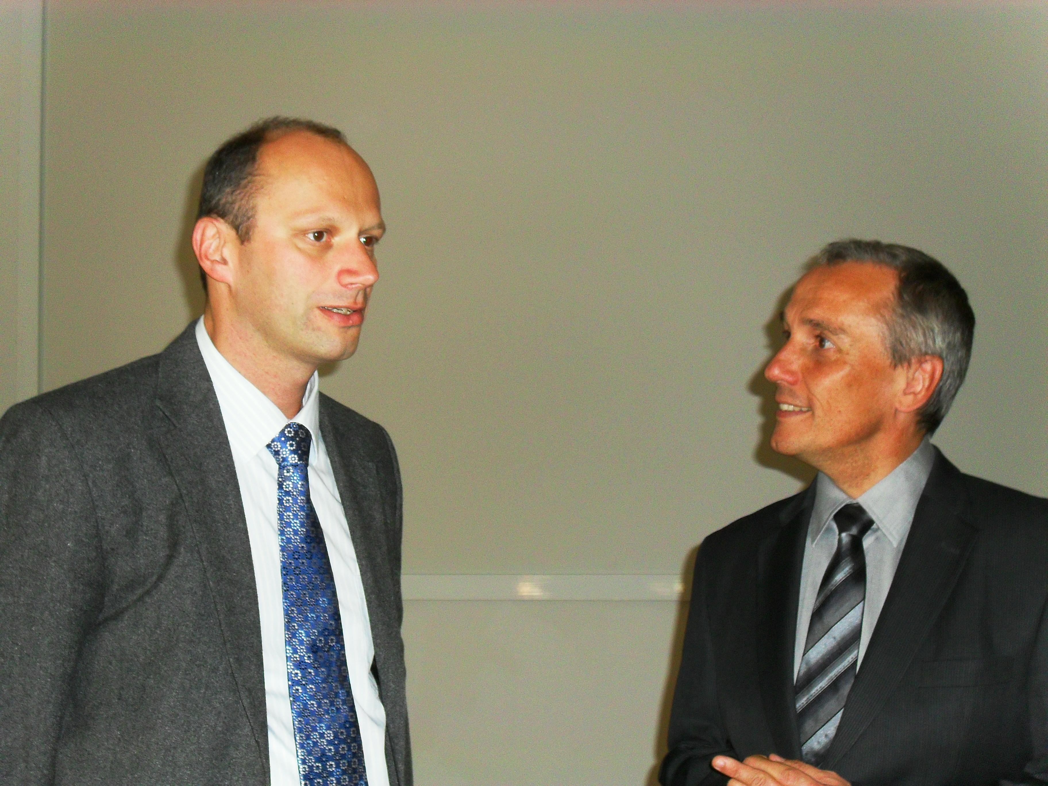 Thomas KLINGER et Philippe CHOMAZ