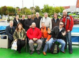 Les équipes W7X (CEA et IPP): croisière à Greifswald