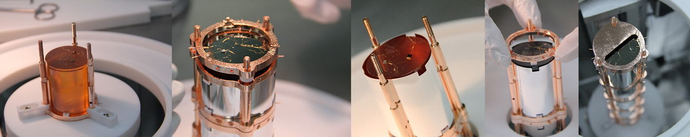 CUPID-0 - intégration des détecteurs