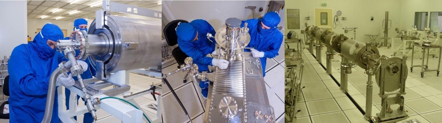ESS - 1er cryomodule de démonstration passe le test RF de puissance dans les conditions ESS avec succès