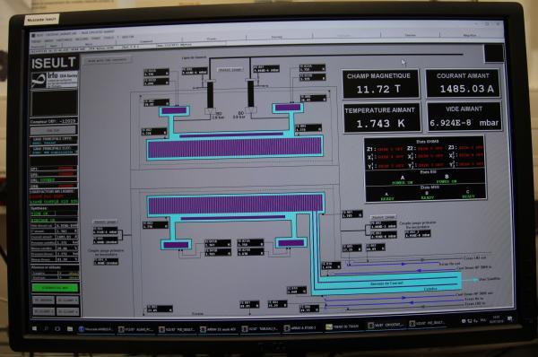 Iseult - 11,7 teslas, record mondial de champ magnétique pour un aimant d'IRM du corps humain
