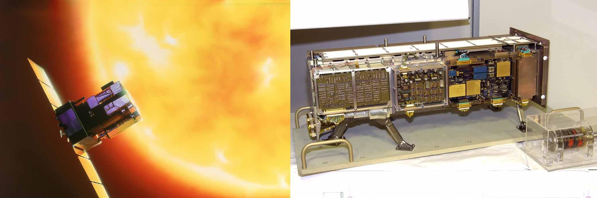 Le satellite SOHO