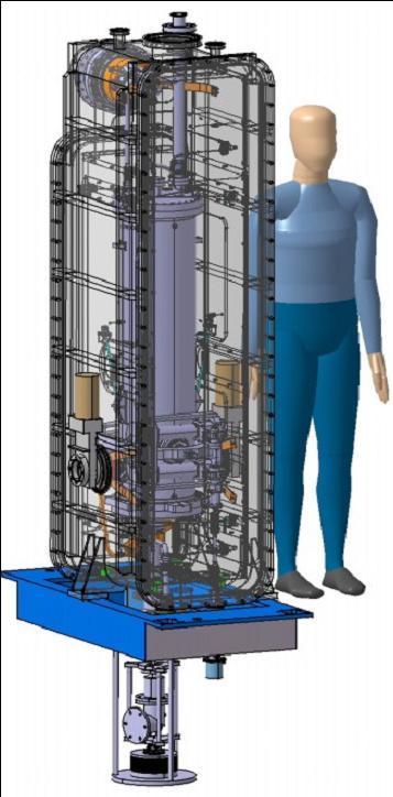 Cavité prototype du cryomodule A pour SPIRAL2