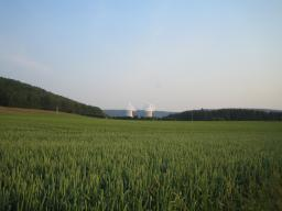 Tours de refroidissement de la centrale nucléaire de Chooz