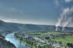 Vue de la centrale nucléaire de Chooz