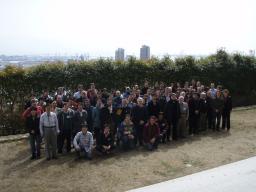 Photo de Collaboration  Double Chooz à Kobe en Fevrier 2008