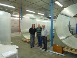 Construction des enceintes acryliques cible de Double Chooz