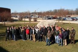 Photo de la Collaboration Double Chooz à Argonne (US) en 2005