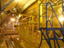 Enceinte Gamma Catcher de Double Chooz dans le laboratoire neutrino