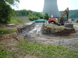 Construction du laboratoire proche de Double Chooz