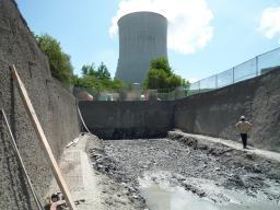 Construction du laboratoire proche de Double-Chooz