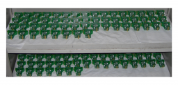 Capteurs Hall 3D permettant la mesure et le calcul du champ magnétique d'Atlas