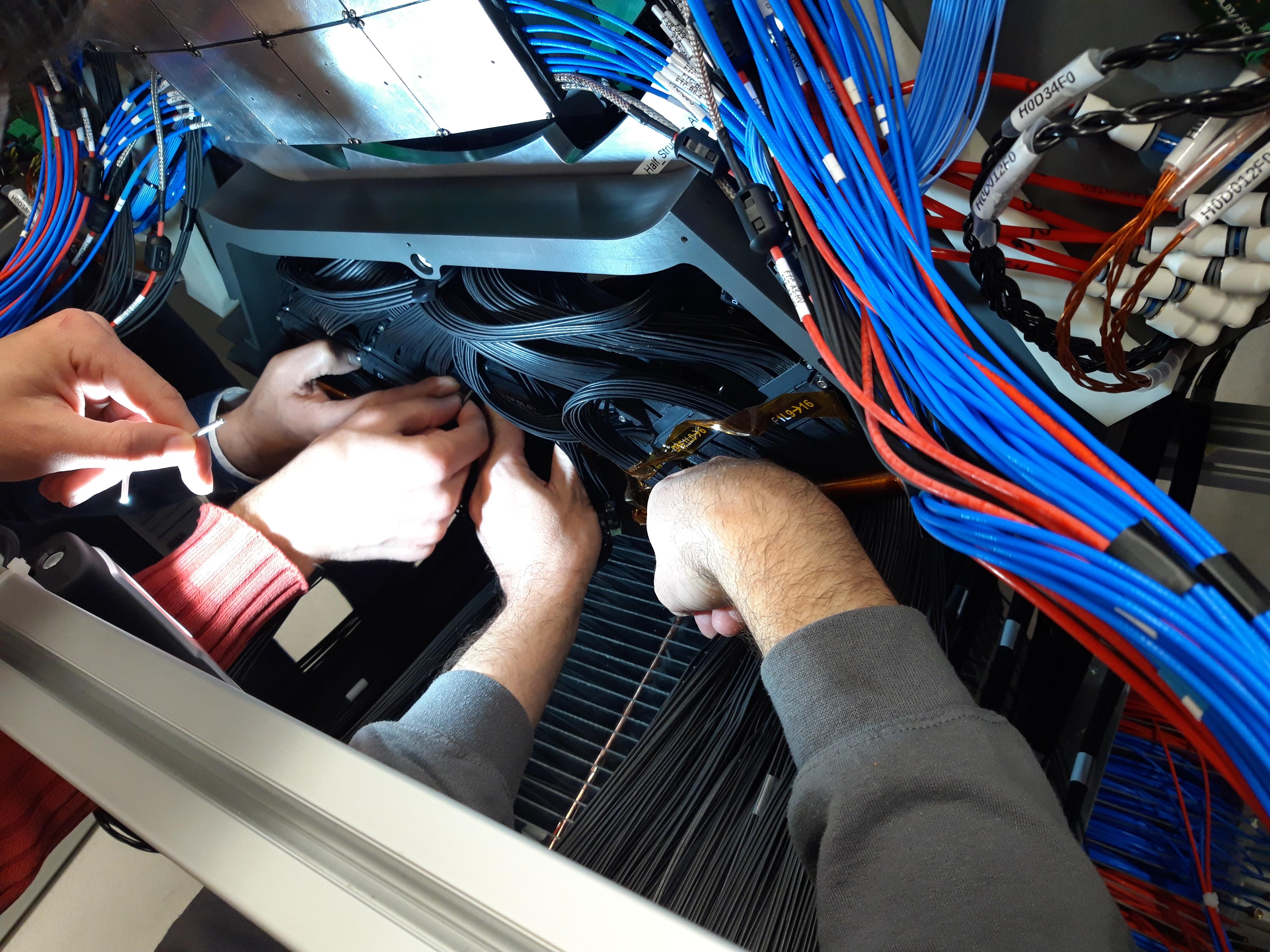 Comissionning du détecteur Alice MFT