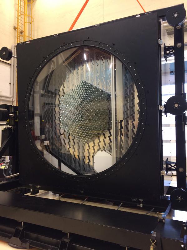 Tests Caméra NectarCAM à Berlin, juillet 2019