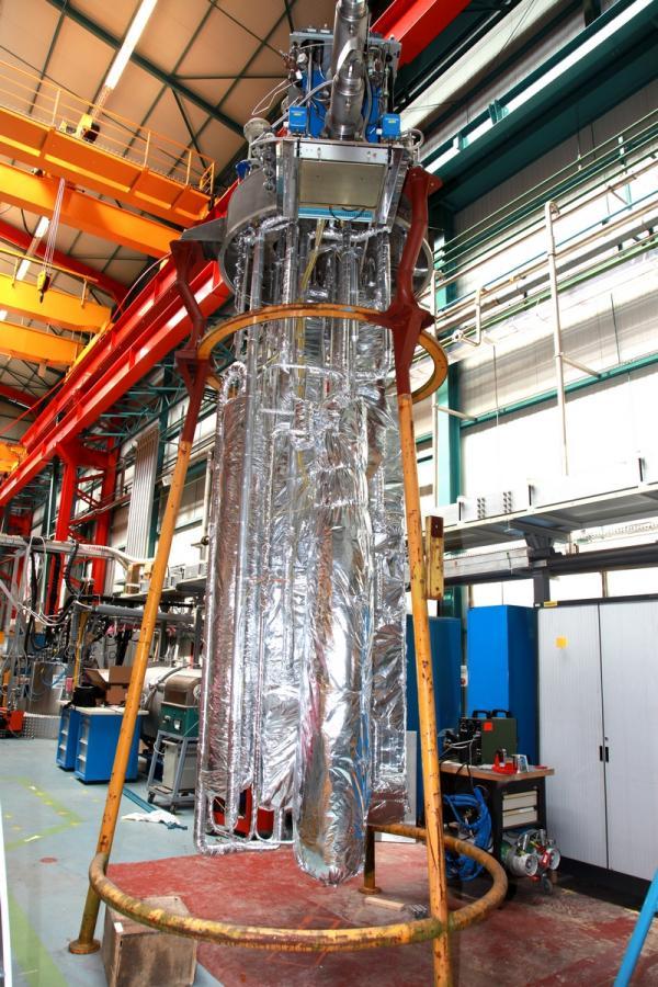 Le liquéfacteur Cello pour la station d'essai JT-60SA