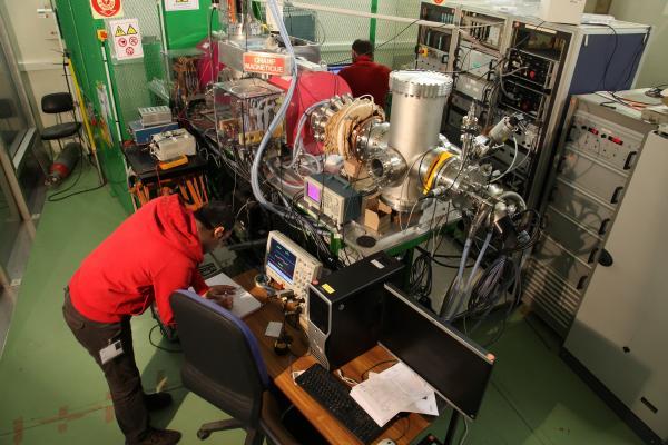 Test du CHOPPER ESS sur le banc de test BETSI avec la source SILAP 1