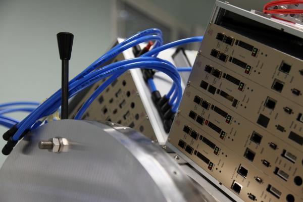 Instrument Clas12 en cours d'intégration