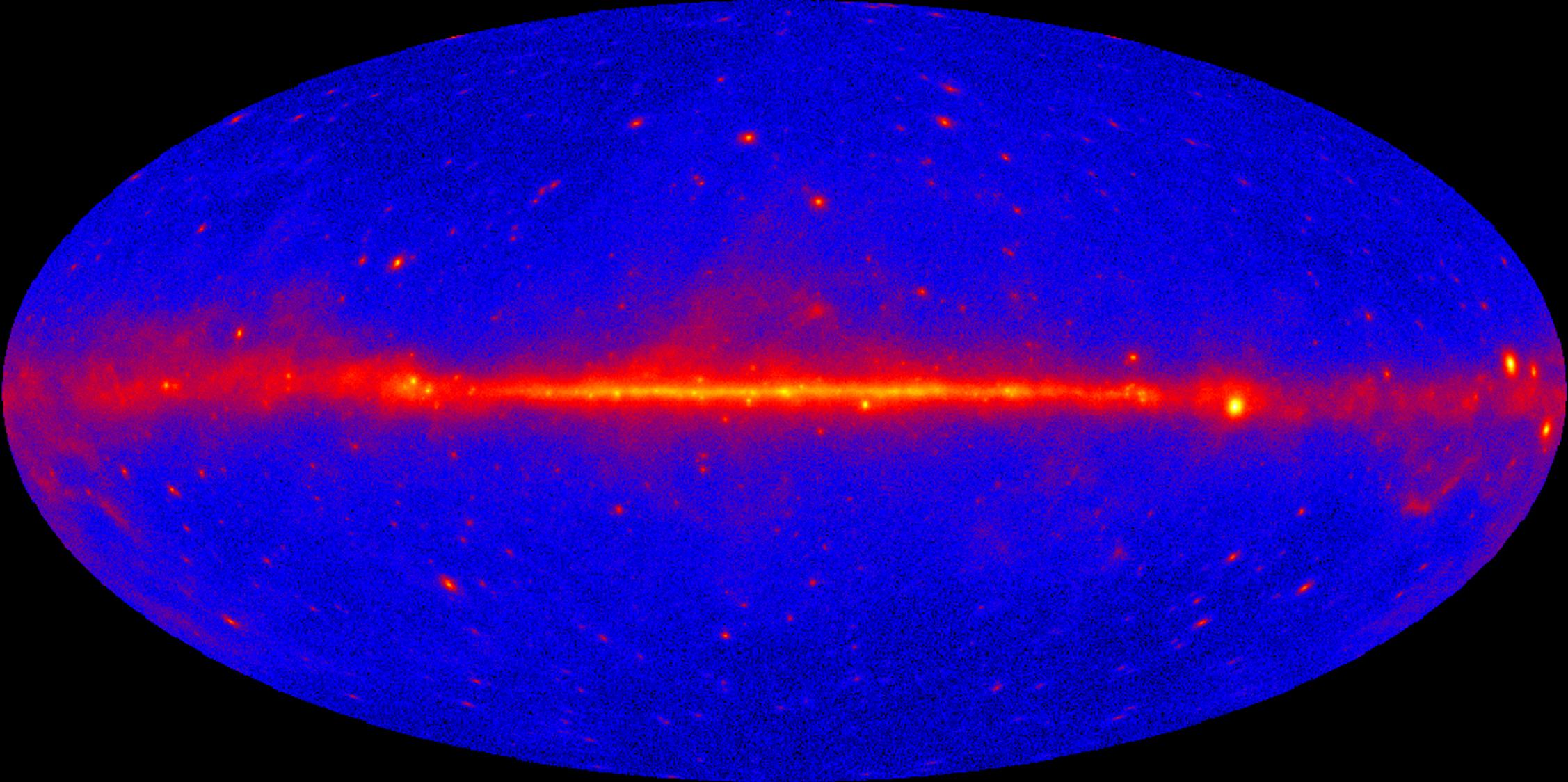 Bestiaire gamma, parution du premier catalogue des sources Fermi