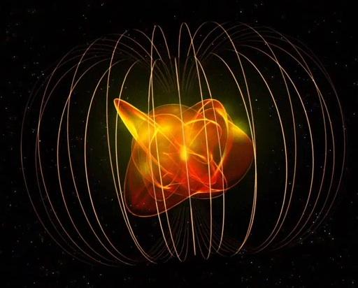 Magnetar ou pulsar?