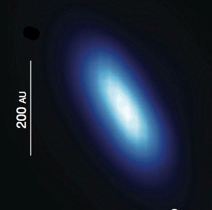 Le disque de poussières de l'étoile Beta-Pictoris vu par le satellite Herschel