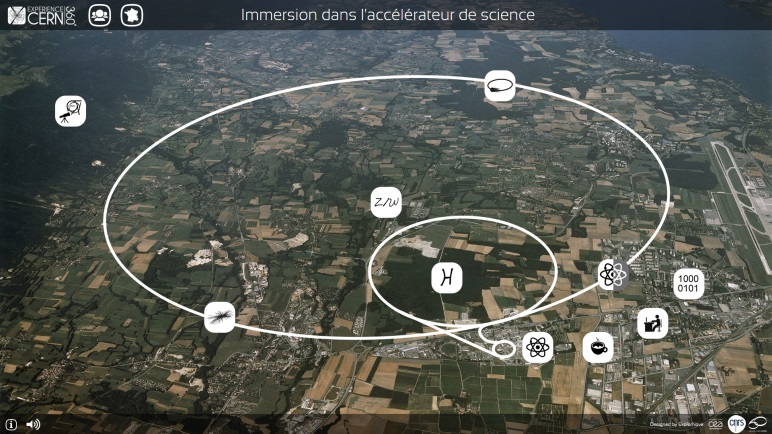 Tester le web documentaire : Expérience CERN 360