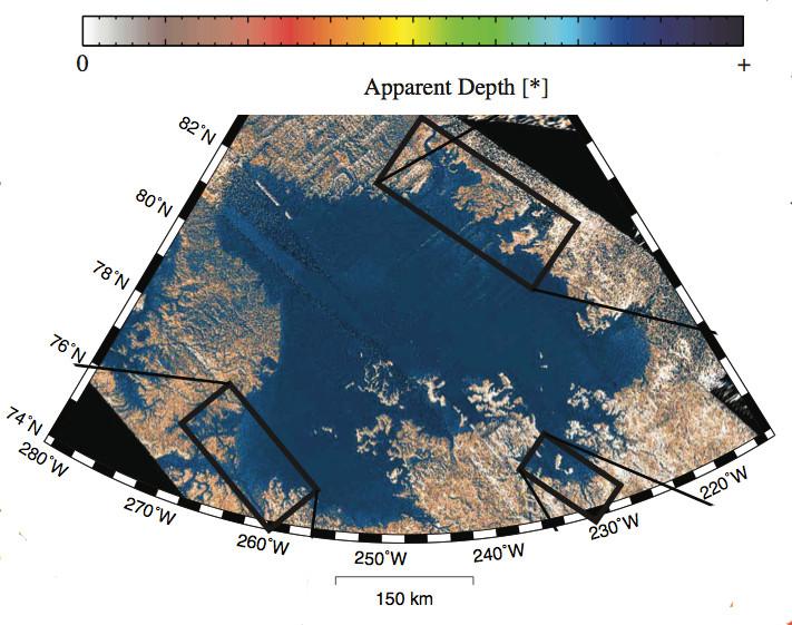 Nouveau regard sur les lacs de Titan