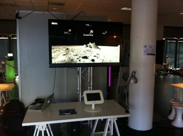 ExplorNova 360° au salon Experimenta