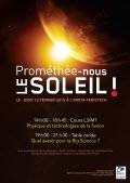 Prométhée-nous le soleil ! - Journée thématique sur la fusion thermonucléaire