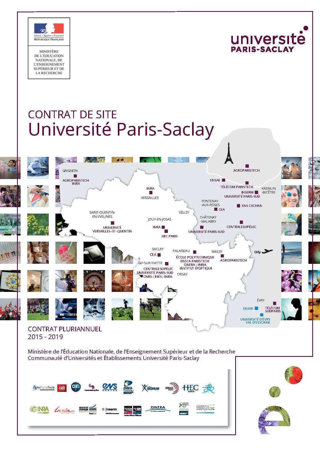 L'Université Paris-Saclay signe son contrat de site pour 2015-2019