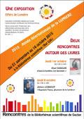 La Bibliothèque scientifique de Saclay fête l'Année Internationale de la Lumière