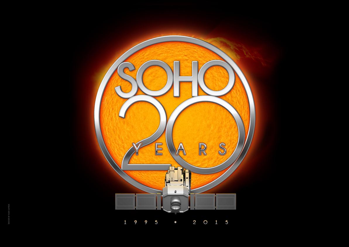 20ème anniversaire du lancement du satellite SoHO