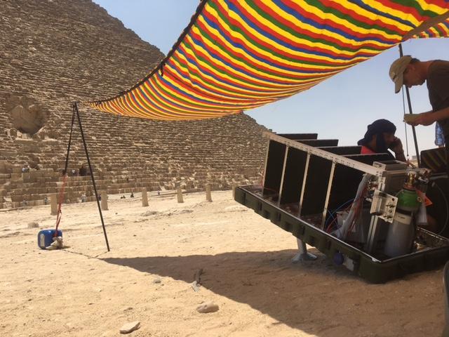 secrets pyramide de gizeh