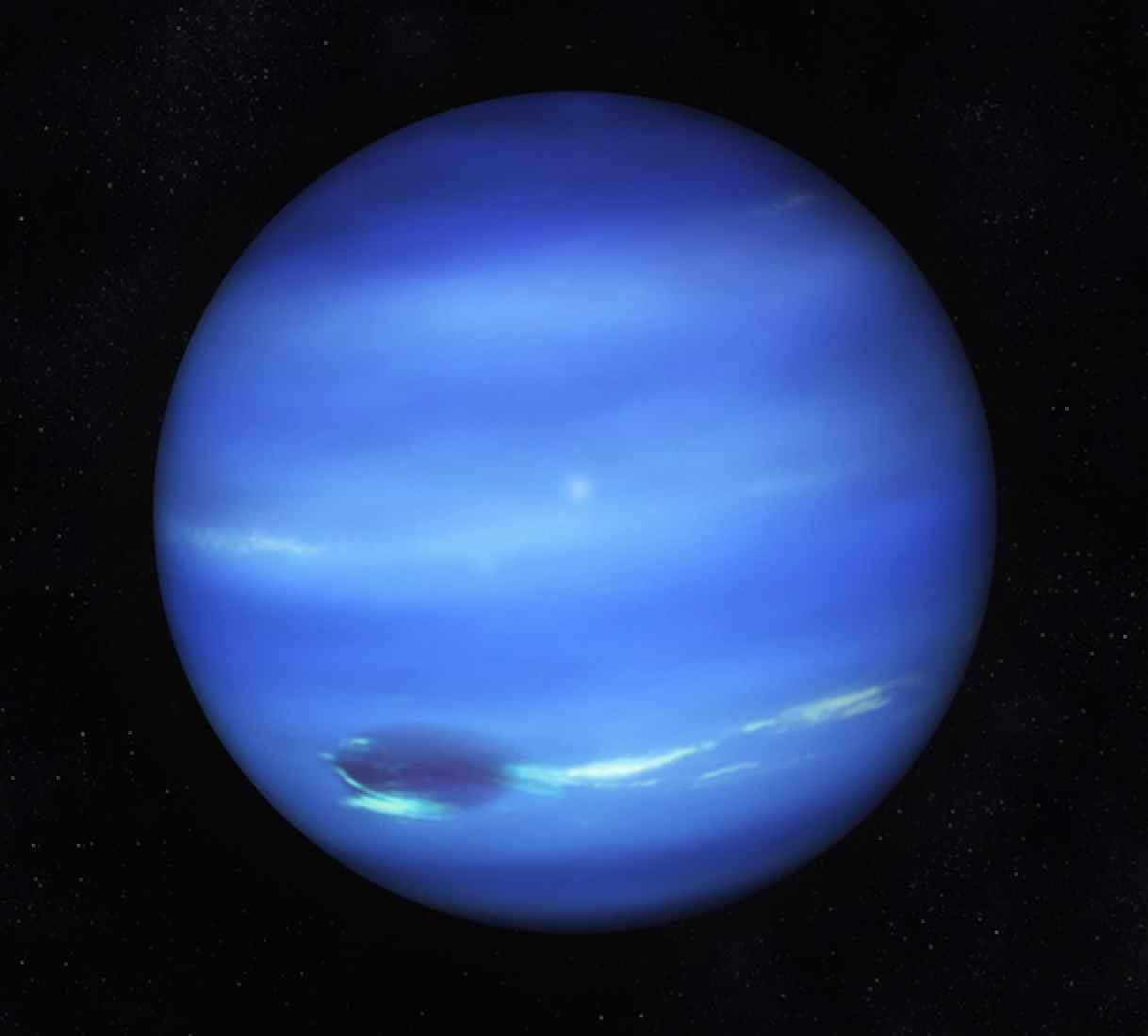 Les oscillations du Soleil se réflètent sur la planète Neptune