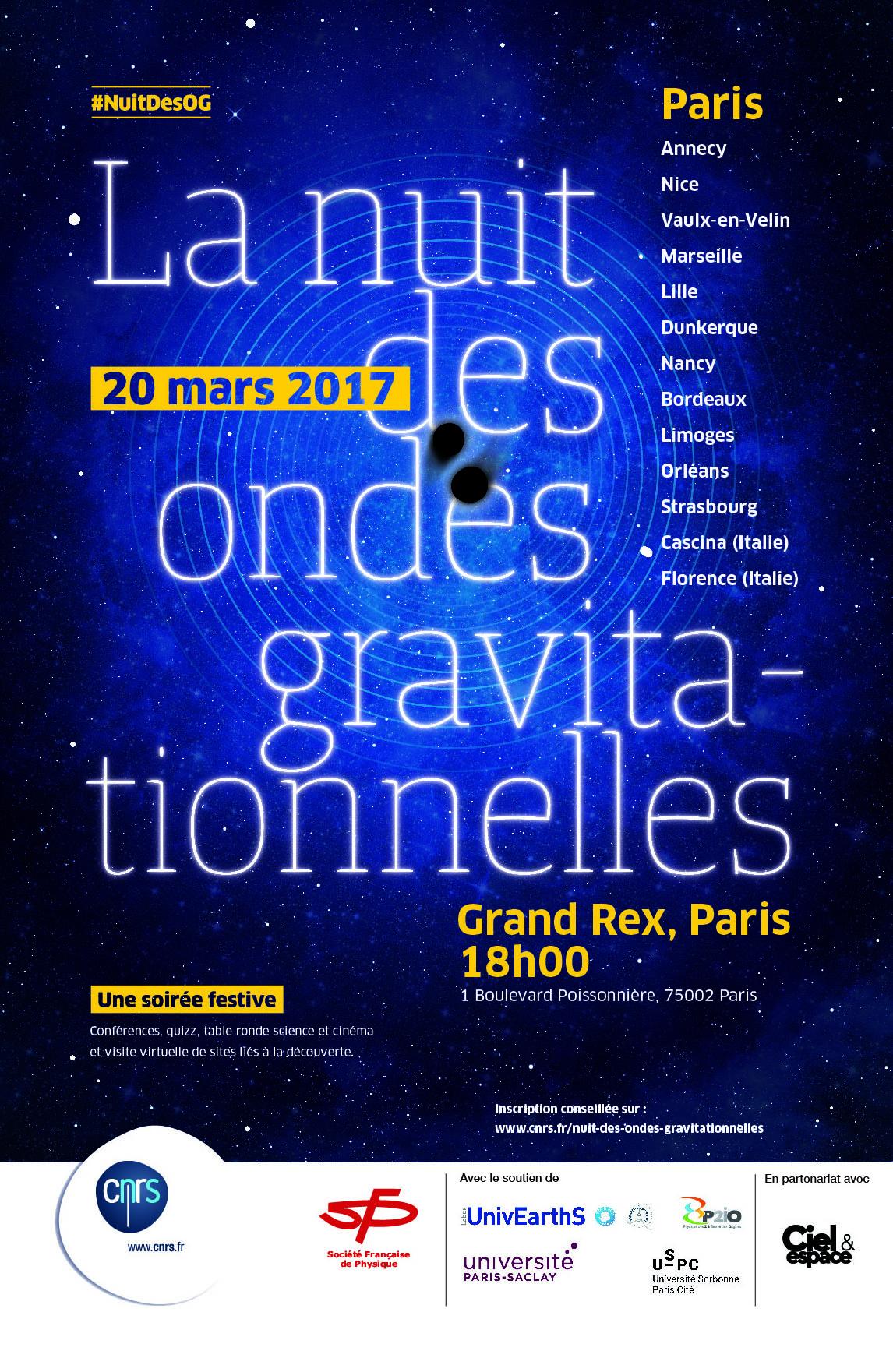nuit des ondes gravitationnelles