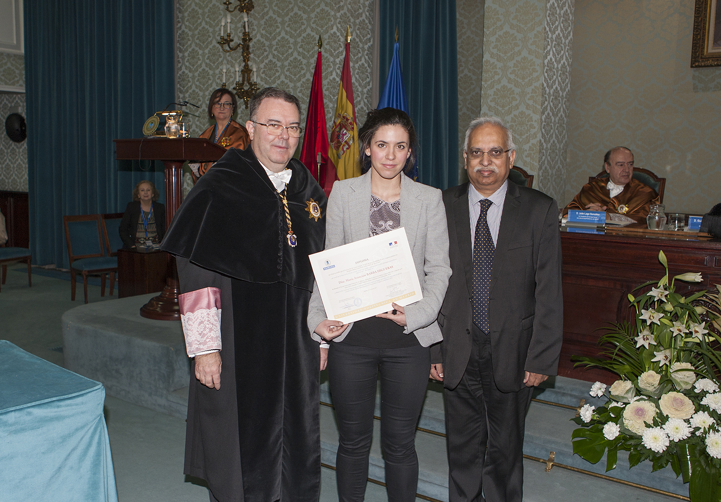 Une étudiante du SACM primée par l'ambassade de France en Espagne